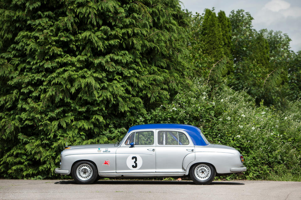 1958 Mercedes-Benz 220SE 'Ponton' Competition Saloon  Chassis no. 180010Z8502794