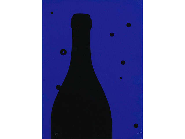 Patrick Caulfield (British, 1936-2005) Night Sky, from 'Eighteen Small Prints' Screenprint in colours, 1973, signed, titled and numbered 74/100 in pencil verso, printed by Advanced Graphics, London, published by Bernard Jacobson Gallery, London, the full sheet printed to the edges, 210 x 150mm (8 1/4 x 5 7/8in)(SH)