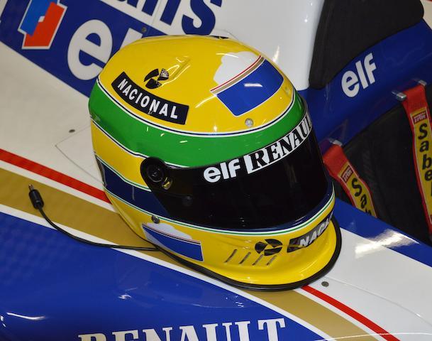 A unique Ayrton Senna Bell helmet, 1994,  ((2))