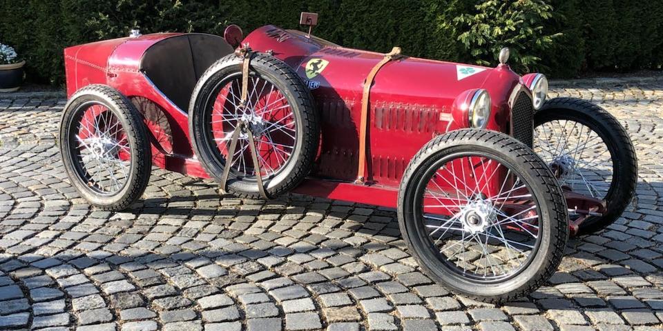 A superb Alfa Romeo 8C 2300 child's car,