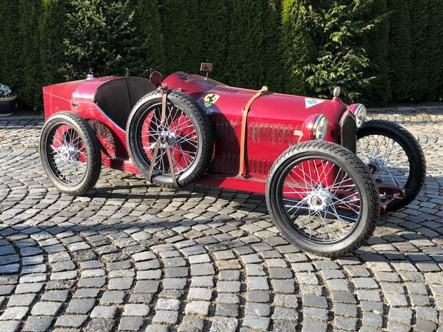 A superb Alfa Romeo 8C 2300 child's car,