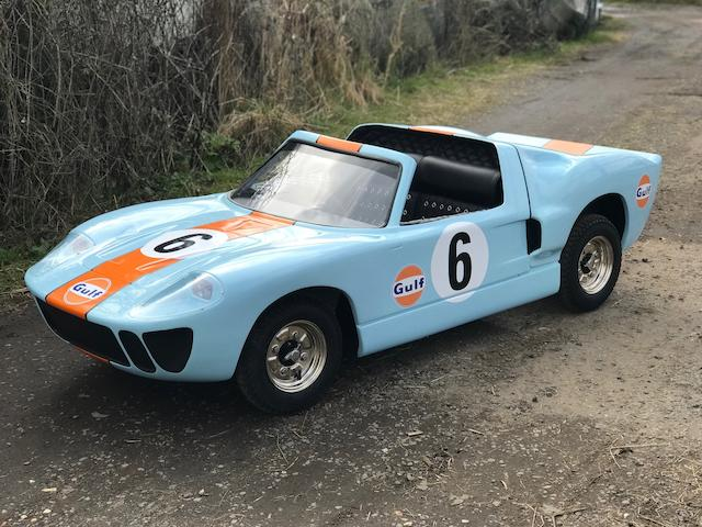 A Ford GT40 'Gulf' Child's Car,