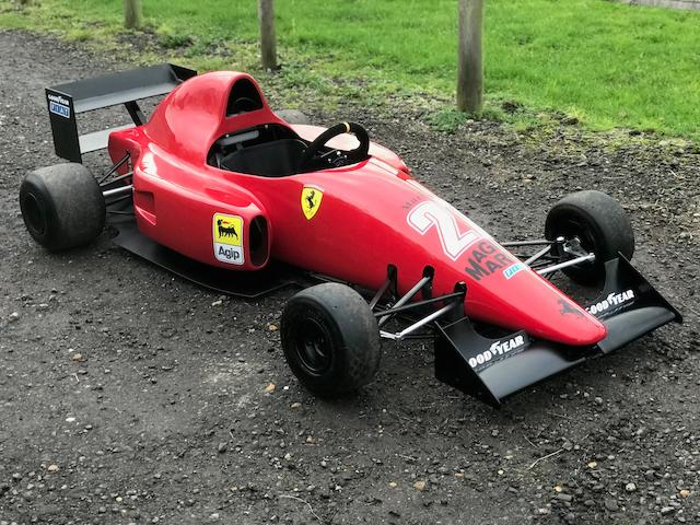 A Ferrari F640 Child's Car, 1989,