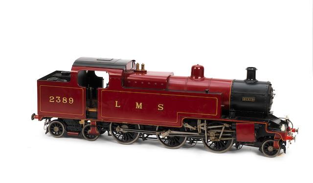 "3½ inch gauge L.M.S. Fowler Class 4P-D 2-6-4T tank locomotive ""Doris"" number 2389,"
