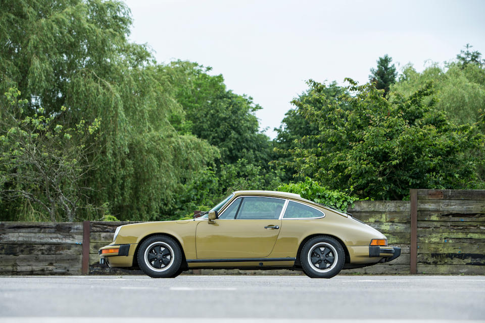 From the hit TV drama, 'The Bridge',1977 Porsche 911S Coupé  Chassis no. 9117201496