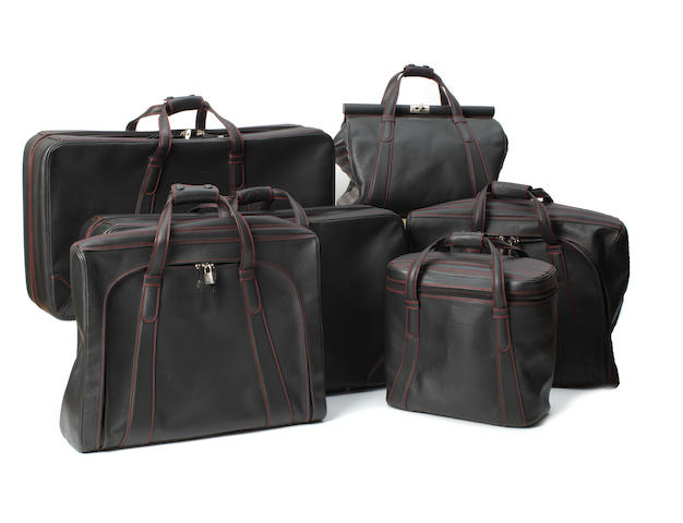 A six piece set of Ferrari 550 Maranello luggage By Schedoni, Italy,  ((Qty))