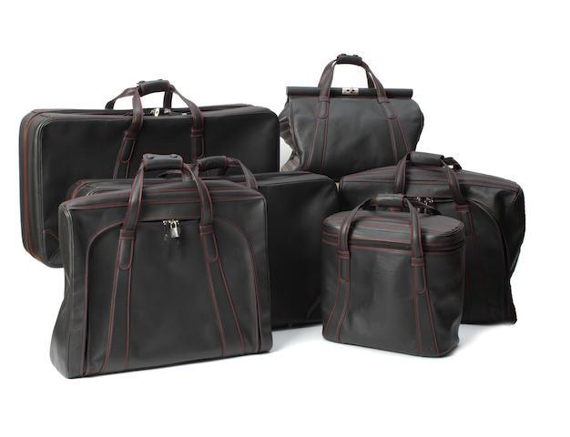 A six piece set of Ferrari 550 Maranello luggage By Schedoni, Italy,  ((Qty))