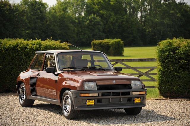 Concours condition,1983 Renault 5 Turbo II  Chassis no. VF1822000E0000338