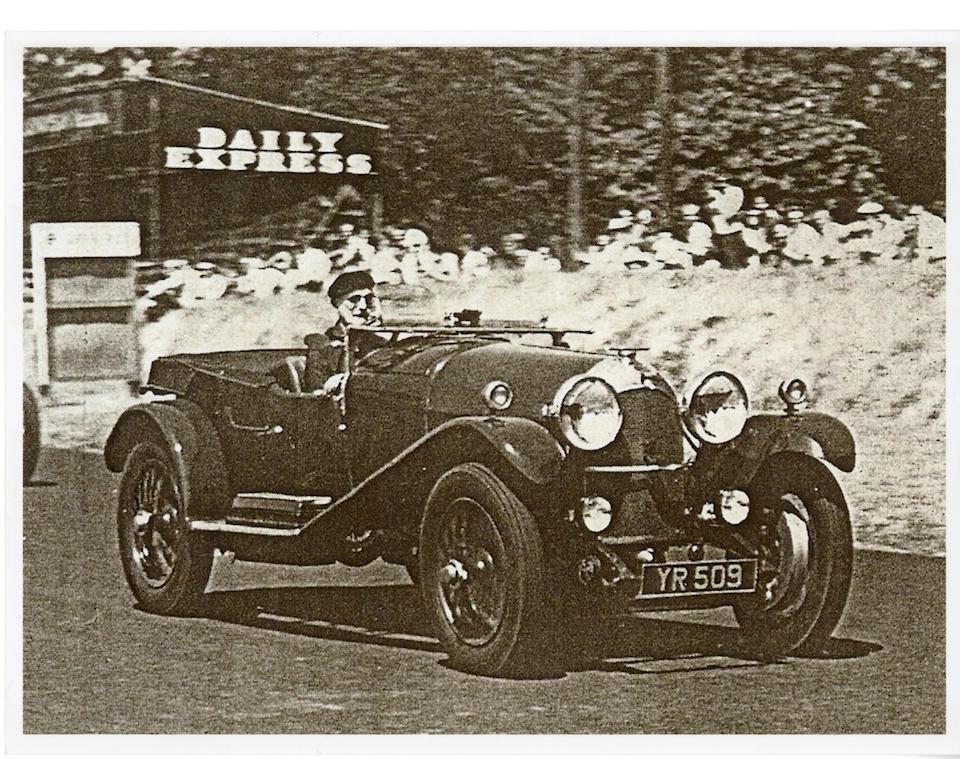 1926 Bentley 3-Litre Speed Model Sports Tourer  Chassis no. DE1220 Body no. 1292  Engine no. DE1225 (see text)