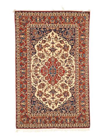 An Isfahan rug   230cm x 146cm