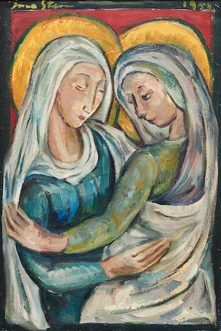 Irma Stern (South African, 1894-1966) The Visitation