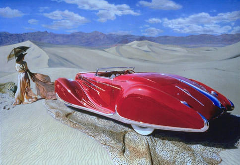 """""""Delahaye"""" limited edition print, after Nicola Woods,"""