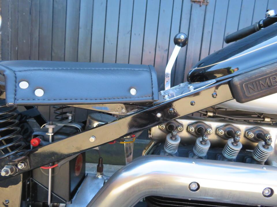 1938 Nimbus 750cc Four Frame no. no plaque present Engine no. 3813