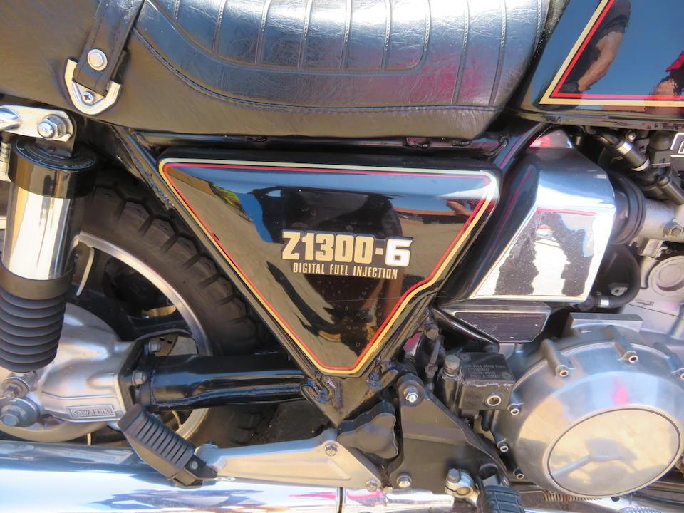 531.7 miles from new,1985 Kawasaki Z1300 Frame no. ZGT30A-000741 Engine no. KZT30AE020378