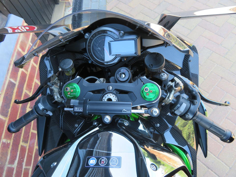 1 'push' mile from new,c.2015 Kawasaki 998cc H2R Frame no. JKA2XT00PPA00165 Engine no. ZXT00NE002327