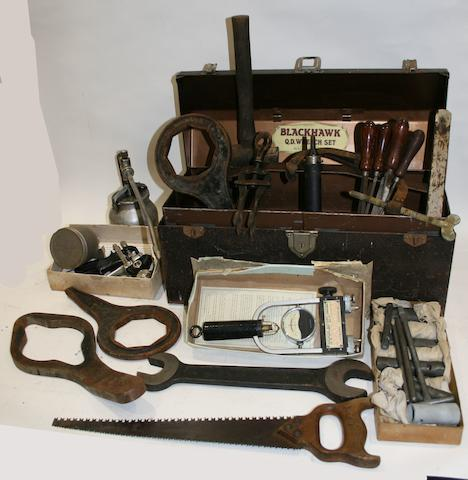 Assorted tools and toolboxes from the Sears's garages,  ((Qty))