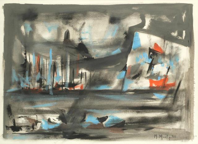 Marcel Mouly (French, 1918-2008) Sans titre