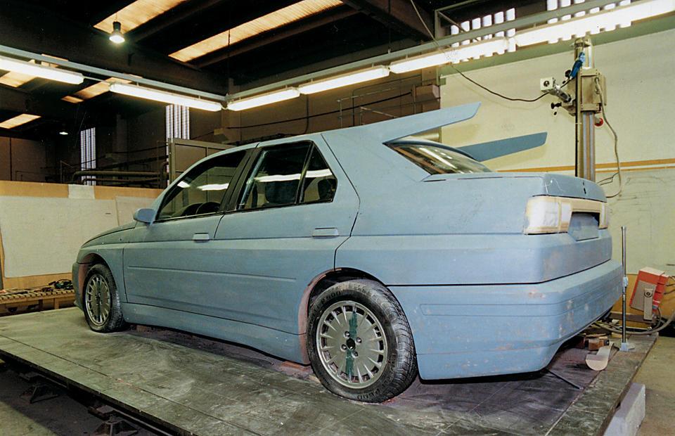 1993  Alfa Romeo  155 GTA Stradale Sports Saloon  Chassis no. ZAR16700000005892