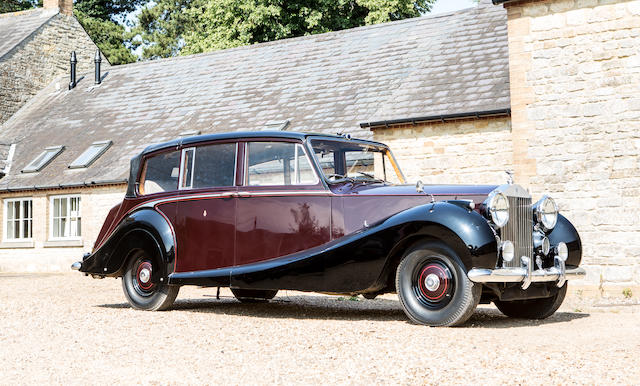 Completed in Rolls-Royce's Golden Jubilee year, used by HM The Queen and kept in the Royal Mews from 1959 until 2002, 1955 Rolls-Royce Phantom IV State Landaulette  Chassis no. 4BP5