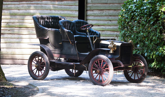 Only four owners in 113 years,1905 REO 16hp Touring Car  Chassis no. 9