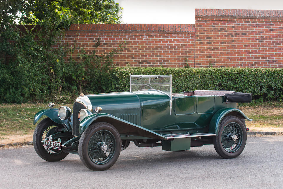 The ex-George Daniels,1924 Bentley 3-Litre 'Speed Model' Tourer  Chassis no. 373