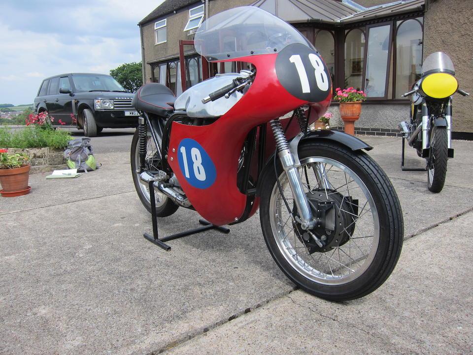 1962 Norton 348cc Manx Model 40M Frame no. Not visible Engine no. None