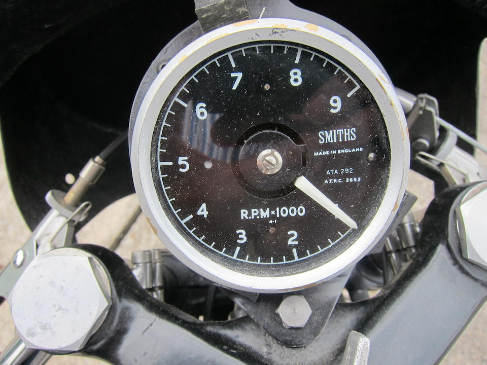 1961 Norton 499cc Manx Model 30M Frame no. 11M 97283 Engine no. 204