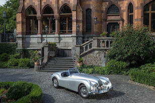 "Purchased new by Anita Ekberg, the star of ""La Dolce Vita"",1956 Jaguar  XK 140 SE Roadster  Chassis no. S81281DN"