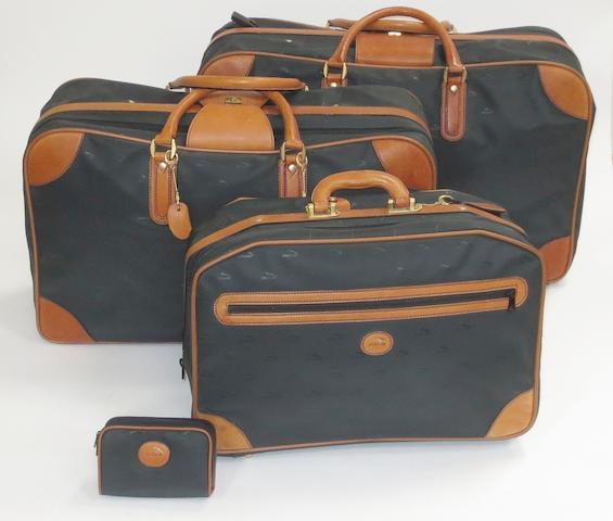 A good lot of assorted Jaguar branded luggage,   ((11))