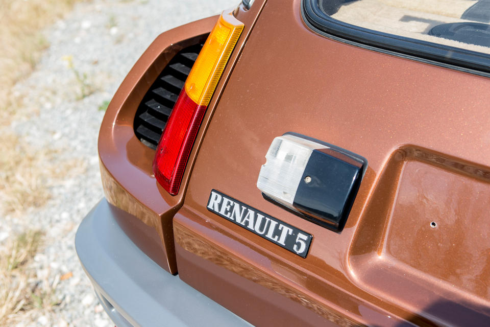 Concours condition,1983 Renault 5 Turbo 2 Hatchback  Chassis no. VF1822000E0000338