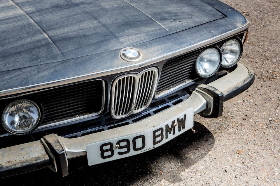 1974 BMW 3.0 CSi Coupé Project  Chassis no. 2265937