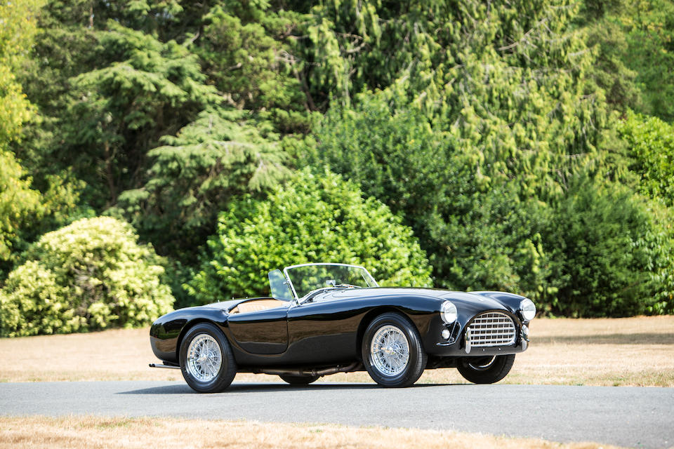 Matching numbers example,1958 AC  Ace Roadster  Chassis no. AEX 1012 Engine no. CLB 2389 WTEN