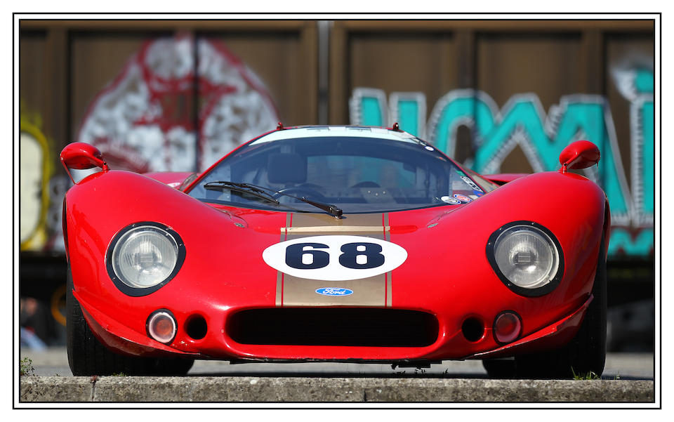 The Ex-Alan Mann Racing Team, 1968-69-Type Ford P68 'F3L'  Group 6 Endurance Racing Coupe  Chassis no. 002