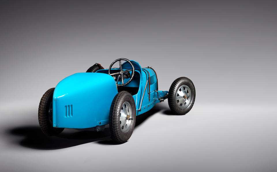 Baby Bugatti  Type 52 Re-creation
