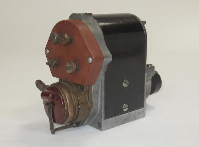 A Bosch ZR4 magneto, American,