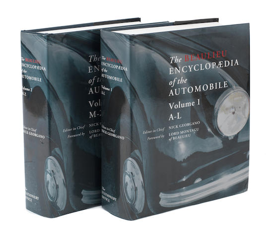 Nick Georgano: The Beaulieu Encyclopaedia of the Automobile; Volumes 1 & 2,   ((2))