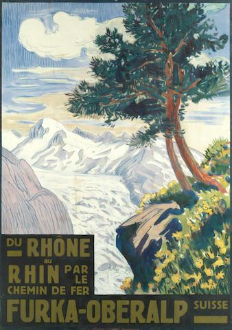 ANONYMOUS FURKA-OBERALP, du Rhone au Rhin