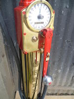 An Avery Hardoll model CH1 hand-cranked petrol pump,