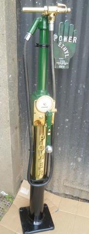 An Avery Hardoll model CH1 hand-cranked petrol pump,