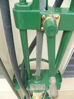 A Godwin model P3 hand-cranked petrol pump,
