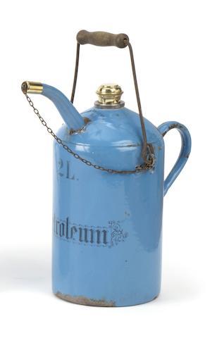 A 2 Litre Petroleum priming kettle,
