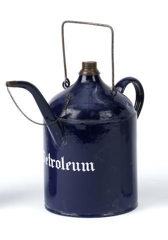A 5 Litre Petroleum priming kettle,