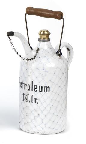 A 1½ Litre Petroleum priming kettle,
