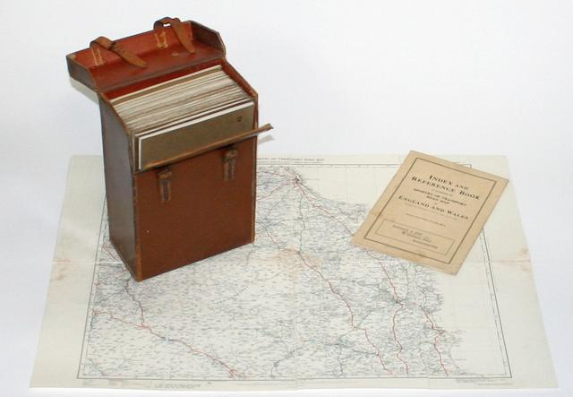 A cased set of Ministry of Transport Road Maps for England and Wales, 1926,