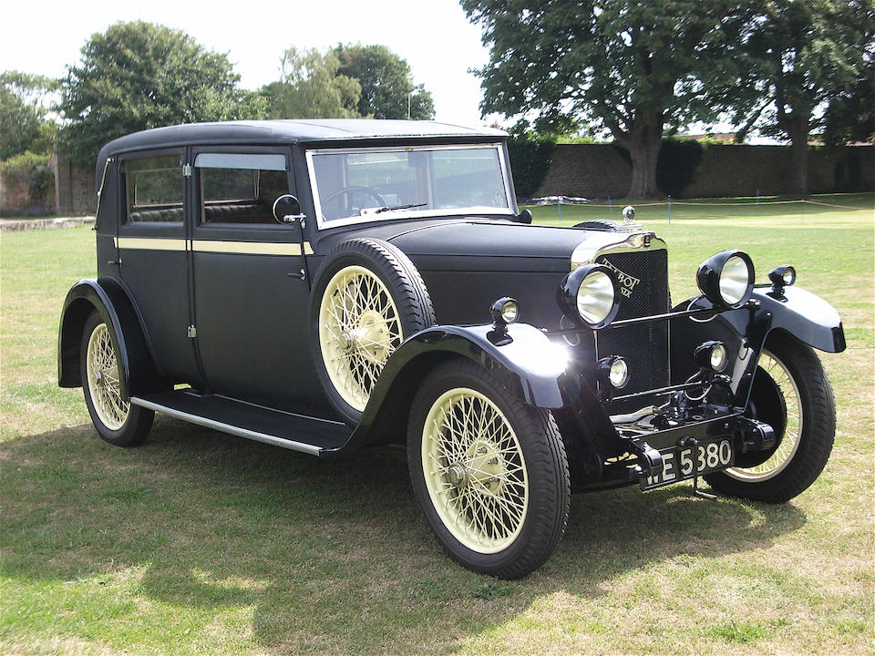1929 Talbot 14-45hp Type AG Weymann Saloon  Chassis no. 26438
