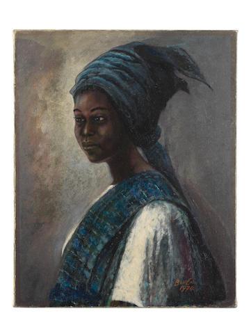 Benedict Chukwukadibia Enwonwu M.B.E (Nigerian, 1917-1994) Tutu (1974)