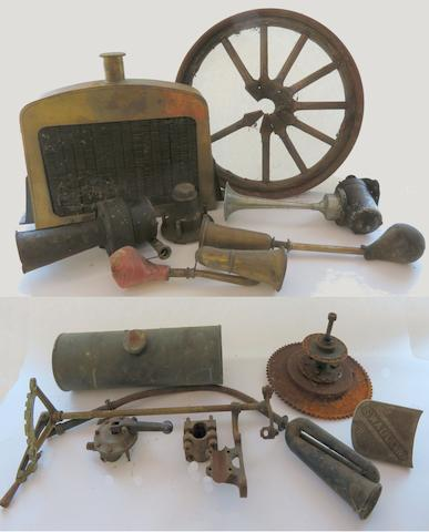 An Autojumbler's Lot of motoring spares,   ((Qty))