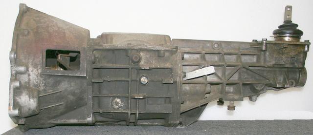 A Borg-Warner T5 transmission,