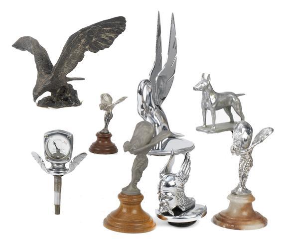 Assorted mascots,  ((8))