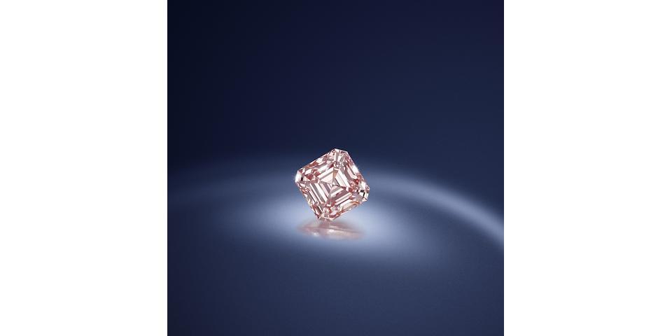 A fine fancy pink diamond